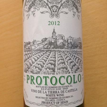 Dominio de Eguren Protocolo Blanco Vino de la Tierra de Castilla White Blend 2015