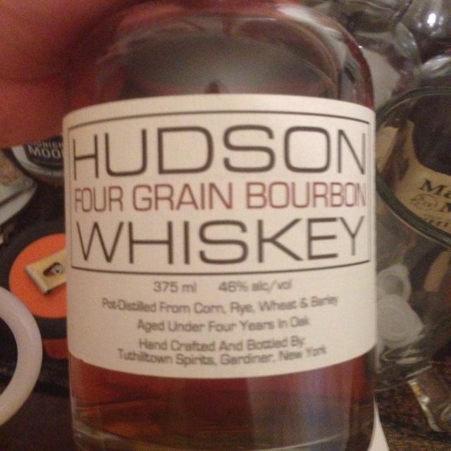 Hudson Whiskey Four Grain Bourbon NV (375ml)