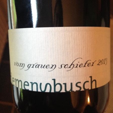 Weingut Clemens Busch Vom Grauen Schiefer Riesling 2013