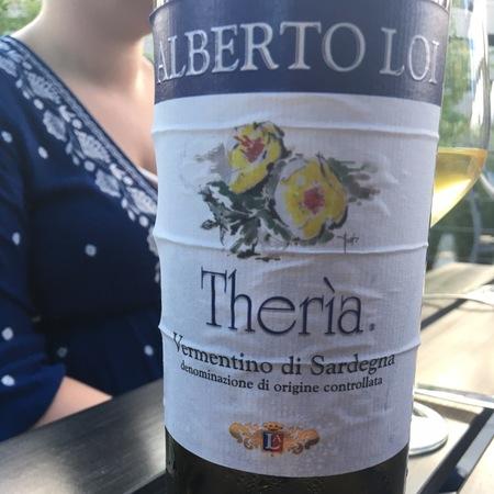 Alberto Loi Theria Vermentino di Sardegna 2015