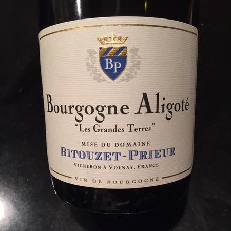 Bitouzet-Prieur Les Grandes Terres Bourgogne Aligoté 2015