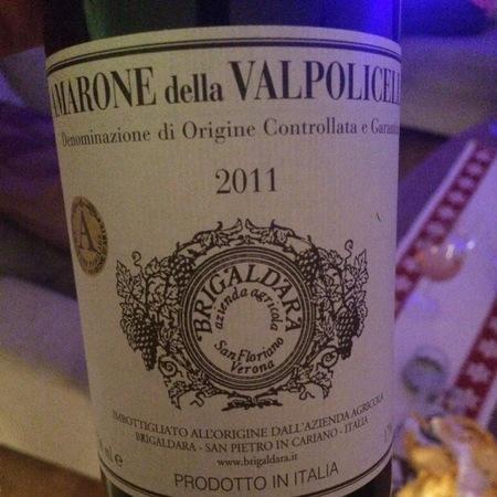 Brigaldara Amarone della Valpolicella Corvina Blend 2011