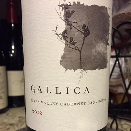 Gallica Napa Valley Cabernet Sauvignon 2012