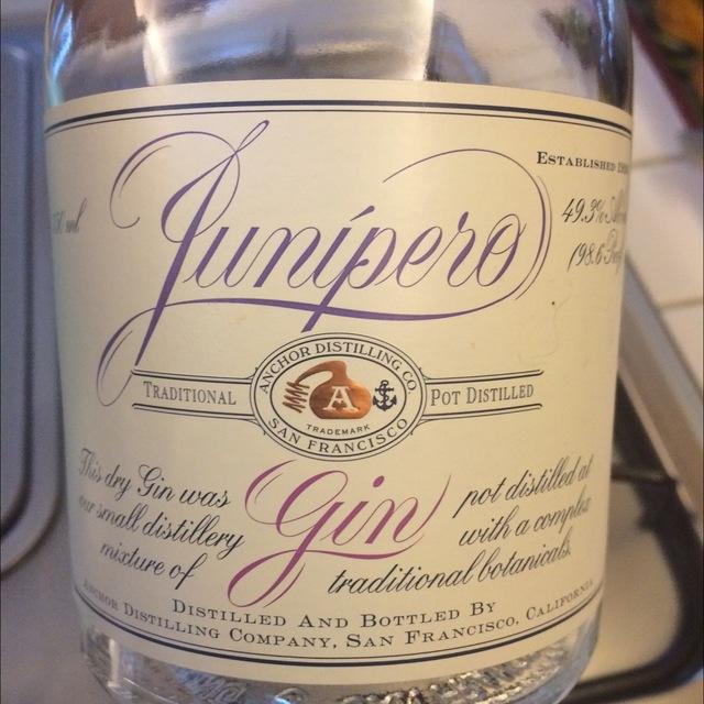Junipero Gin  NV