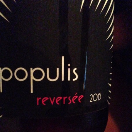 Populis Wine Reversée Mendocino County Carignane 2015
