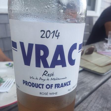 VRAC Vin de Pays de Méditerranée Rosé Grenache Blend NV