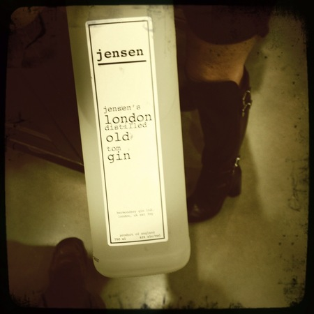 Jensen London Distilled Old Tom Gin NV