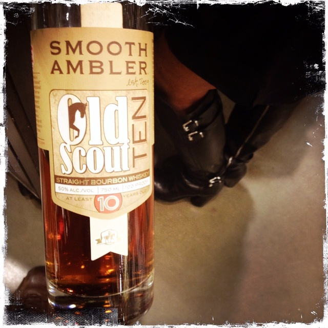 Old Scout At Least 10 Years Old Straight Bourbon Whiskey NV