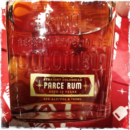 Parce Rum Ron Reserva Especial Straight Colombian 12 Years Rum NV
