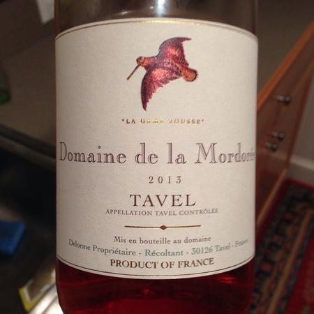 Domaine de la Mordorée La Dame Rousse Tavel Rosé Blend 2016
