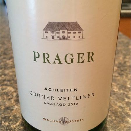 Prager Achleiten Smaragd Grüner Veltliner 2015