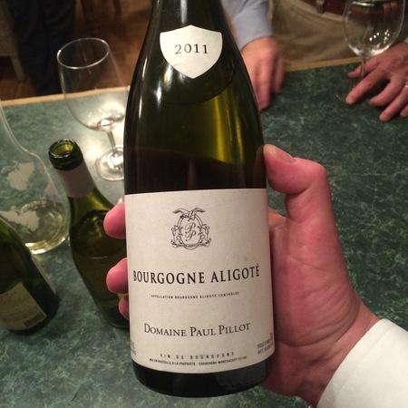 Domaine Paul Pillot Bourgogne Aligote 2015