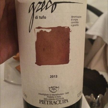 Pietracupa Greco di Tufo DOCG Greco Bianco 2013