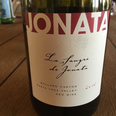 Jonata Winery La Sangre de Jonata Ballard Canyon Syrah 2014