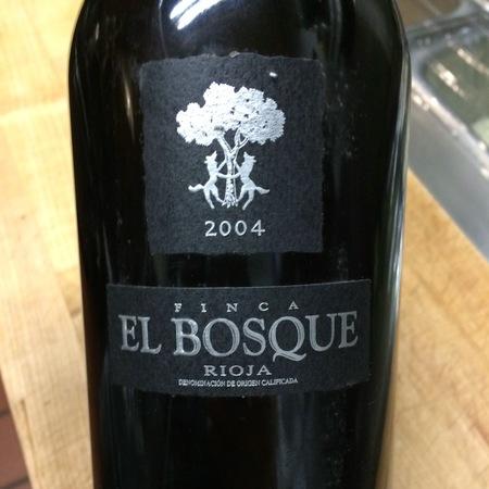 Bodegas Sierra Cantabria Finca El Bosque Rioja Tempranillo 2004