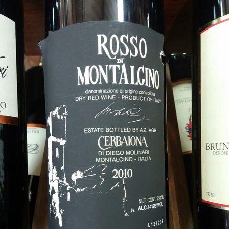 Cerbaiona Rosso di Montalcino Sangiovese Blend 2013