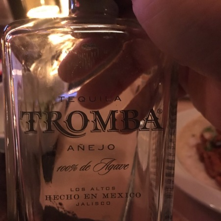 Tromba Tequila Anejo  NV