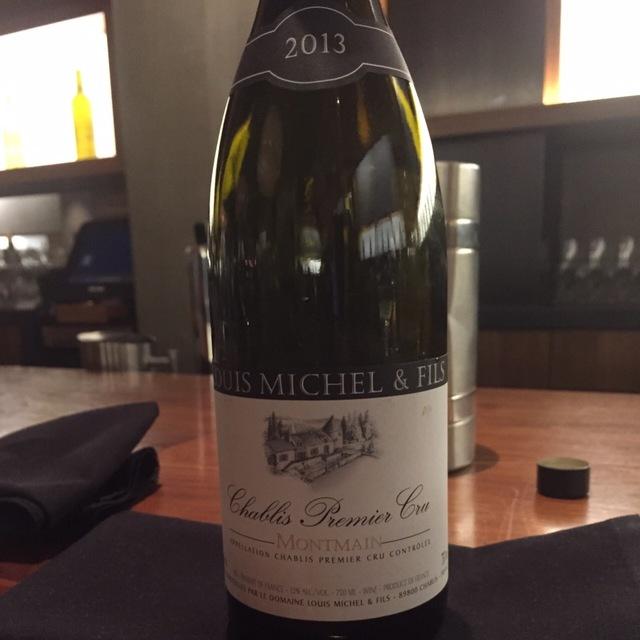 Montmain Chablis 1er Cru Chardonnay 2013