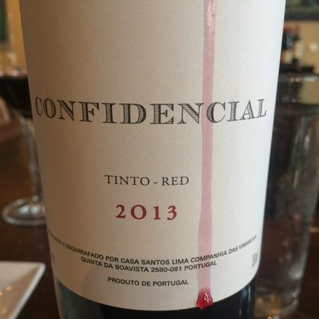 Casa Santos Lima Confidencial Reserva Tinto Red Blend 2013