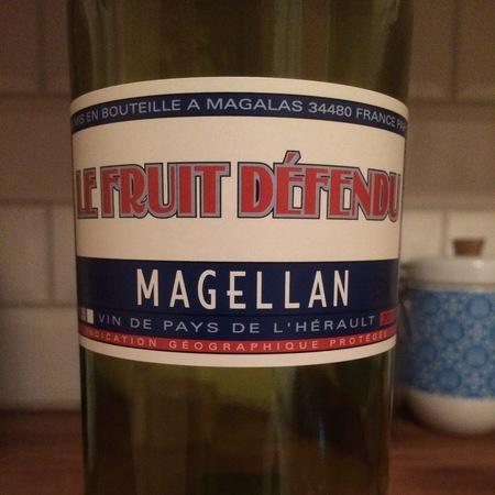 Domaine Magellan Le Fruit Défendu Vin de Pays de l'Hérault Cinsault 2016