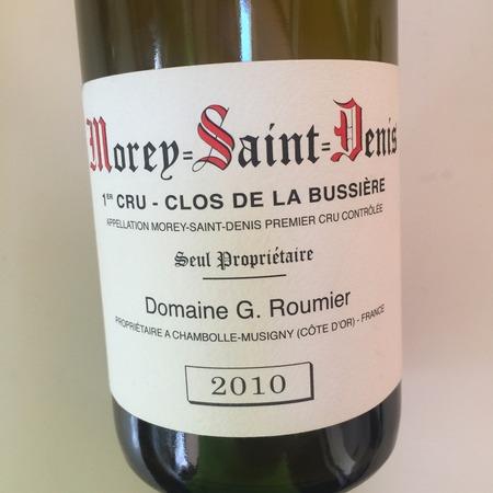 Domaine Georges Roumier Clos de la Bussière Morey-Saint-Denis 1er Cru Pinot Noir 2013