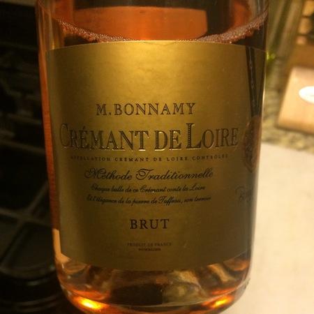 M. Bonnamy Crémant de Loire Brut Rosé NV