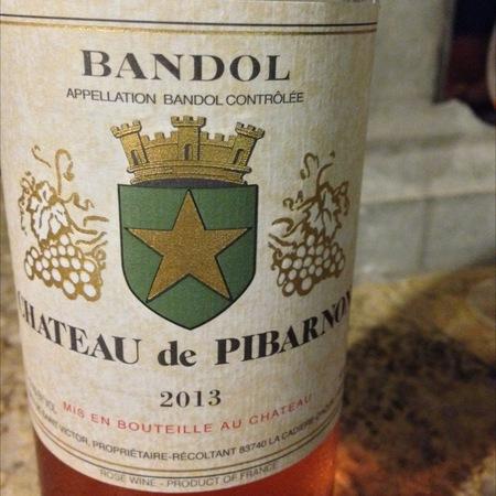 Château de Pibarnon (Comte de Saint Victor) Bandol Rosé Blend  2015 (375ml)