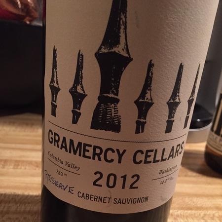 Gramercy Cellars Reserve Columbia Valley Cabernet Sauvignon  2013