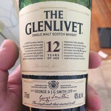 The Glenlivet 12 Years of Age Single Malt Scotch Whisky NV