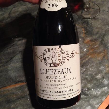 Mongeard-Mugneret Echezeaux Grand Cru Pinot Noir 2015