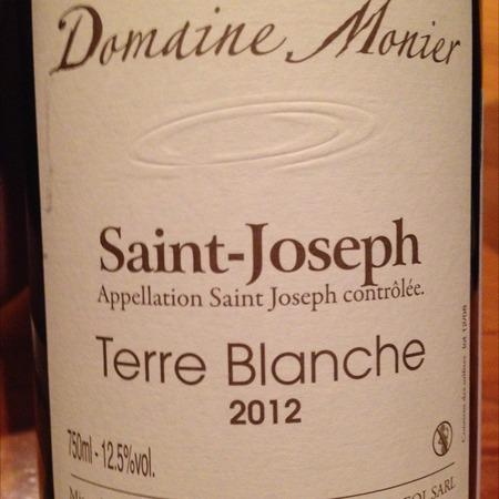 Domaine Monier Perréol Terre Blanche St. Joseph Syrah 2014
