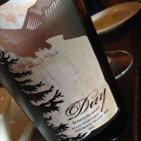 Day Wines Running Bare Mae's Vineyard Cabernet Franc Blend 2014