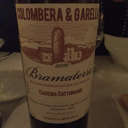 Colombera & Garella Cascina Cottionano Bramaterra Nebbiolo Blend 2013
