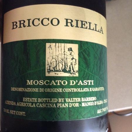 Cascina Pian D'Or Bricco Riella Moscato d'Asti 2016