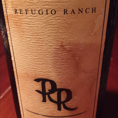 Refugio Ranch Santa Ynez Valley Viognier 2014
