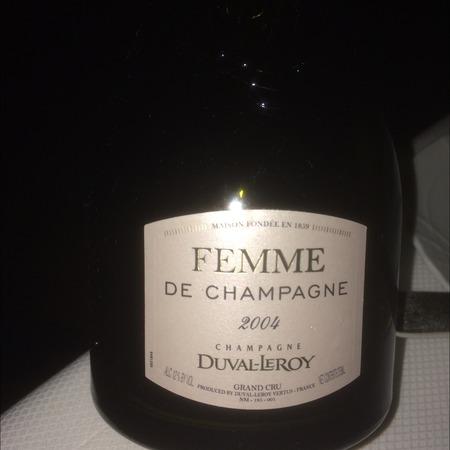 Duval-Leroy Femme de Champagne Grand Cru Brut Champagne Chardonnay Pinot Noir  2000