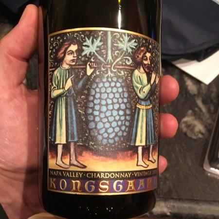 Kongsgaard Napa Valley Chardonnay 2014