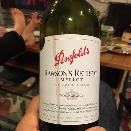 Penfolds Rawson's Retreat Merlot 2002