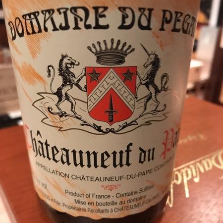Domaine du Pegau Châteauneuf-du-Pape Red Rhone Blend 2015