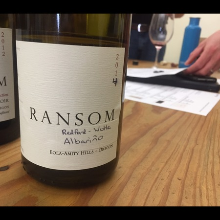 Ransom Redford-Wetle Albariño 2014