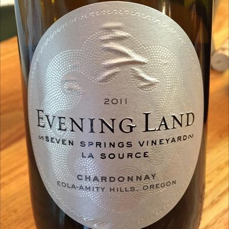 Evening Land Vineyards La Source Seven Springs Vineyard Chardonnay 2014