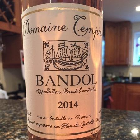 Domaine Tempier Cuvée La Tourtine Bandol Mourvedre Blend 2014