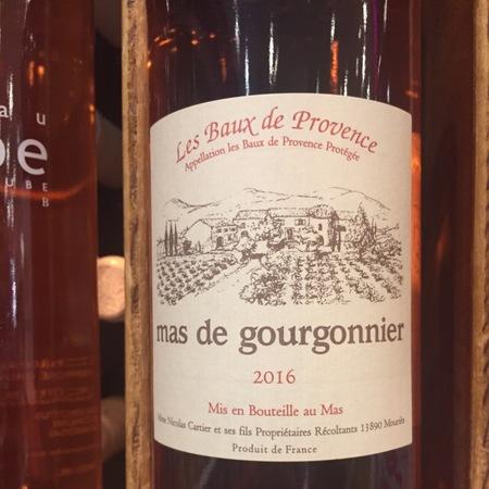 Mas de Gourgonnier Les Baux-de-Provence Rosé Grenache Blend 2016