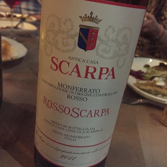 Rosso Scarpa Monferatto Dolcetto Ruche 2010