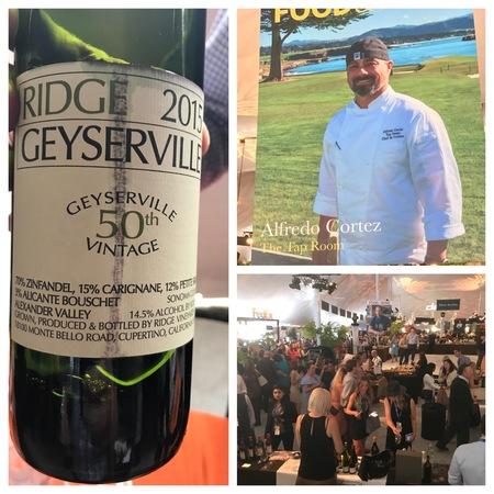 Ridge Vineyards 50th Vintage Geyserville Zinfandel Blend 2015 (375ml)