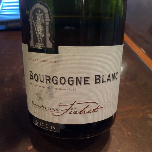Bourgogne Blanc Chardonnay 2013
