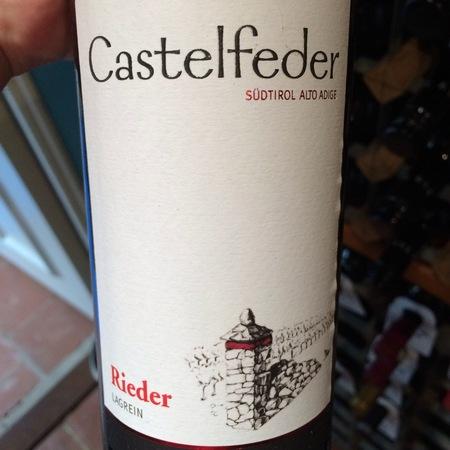 Castelfeder Rieder Lagrein 2015