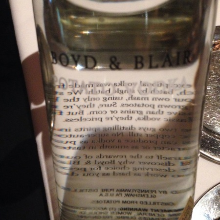Boyd & Blair Potato Vodka NV