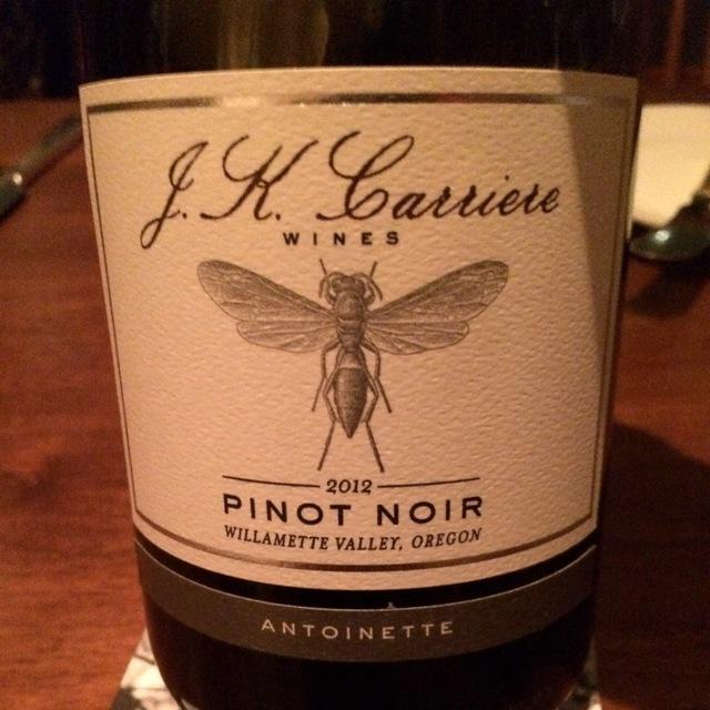 Antoinette Willamette Valley Pinot Noir 2012