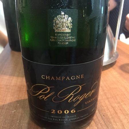 Pol Roger Brut Champagne Blend 2006